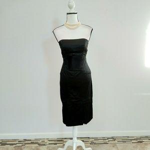 Bebe bodycon midi dress size small